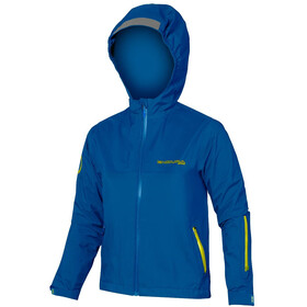 Endura MT500JR Chaqueta Impremeable Niños, azure blue